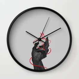 Hand Of Nature Wall Clock