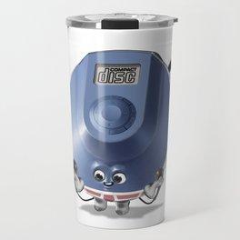 Compact Disk Travel Mug