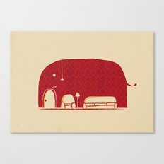 Elephanticus Roomious Canvas Print