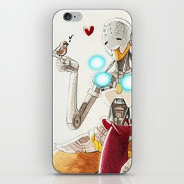 Zenyatta plus a sparrow iPhone Skin