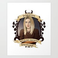 buffy the vampire slayer Art Prints featuring Tara - Buffy the Vampire Slayer by muin+staers