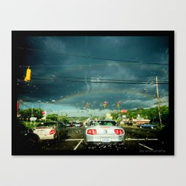 Urban Surprise * Rainbow Lights Canvas Print