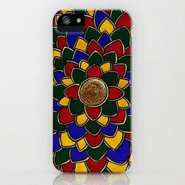 Madhubani Mandala iPhone Case