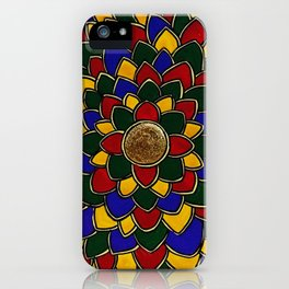 Madhubani Mandala iPhone Case