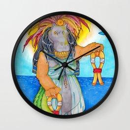 Tawaret Wall Clock