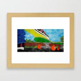 Lemon Sole Framed Art Print