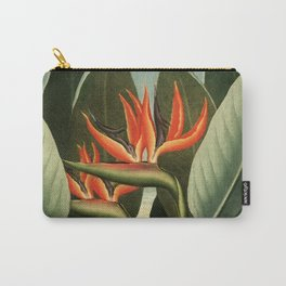 Birds of Paradise : Temple of Flora Carry-All Pouch