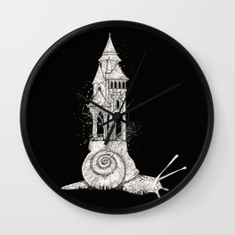 Ivory tower Wall Clock