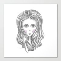 buffy the vampire slayer Canvas Prints featuring Buffy the Vampire Slayer by Pinecones