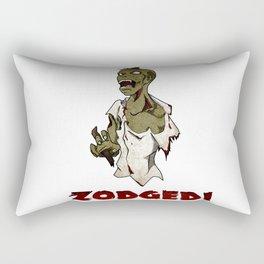Zodged! Rectangular Pillow