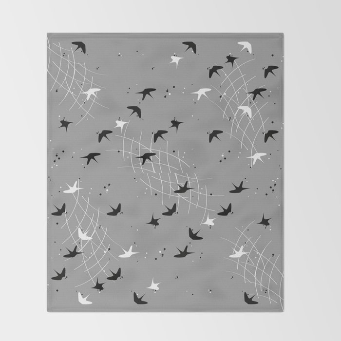 Cement III's Working Patterns Series Throw Blanket