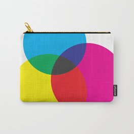 CMYK Mixer Carry-All Pouch