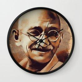 Mahatma Gandhi, Activist Wall Clock
