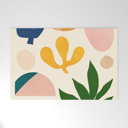 Abstraction_Floral_001 Welcome Mat