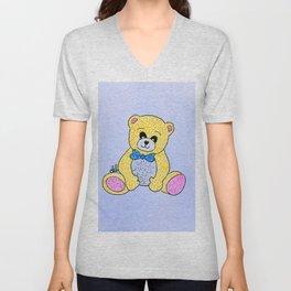 Sparkling bear Unisex V-Neck