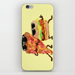 Burgers and Pizzerman iPhone Skin