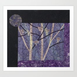 Ode to the Fairy Moon Art Print