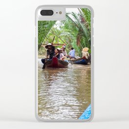 Tributary of the Mekong Delta Clear iPhone Case
