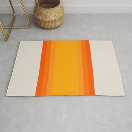 Sunrise Rainbow - Straight Rug
