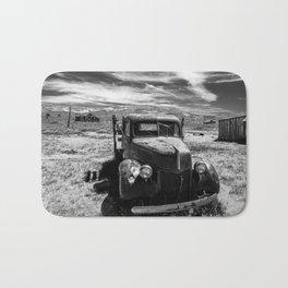 Truck, Bodie California Bath Mat