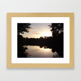 Peaceful Framed Art Print