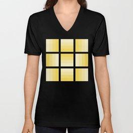 Four Shades of Yellow Unisex V-Neck