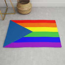 Czech Republic country gay flag homosexual Rug