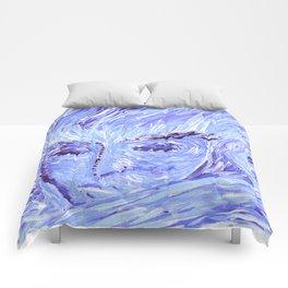 Frozen Man Comforters