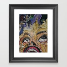CAN YOU SEE THE LIGHT Framed Art Print