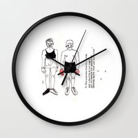 boxer Wall Clocks featuring boxer by nena