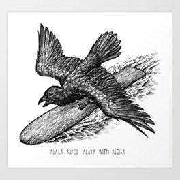 Alala Art Print