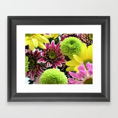 Bouquets Framed Art Print