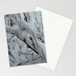 Snow Covered Tree Stationery Cards