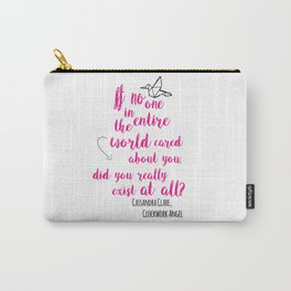 Do you exist at all? | Infernal Devices Carry-All Pouch