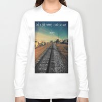 infinite Long Sleeve T-shirts featuring infinite by Smile_Error