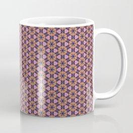 Pattern Purple Flowers Coffee Mug