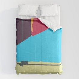 Kite—Aubergine Comforters