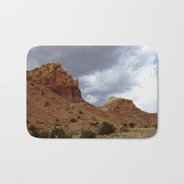 Buttes of New Mexico - On the Road to Santa Fe, No. 8 Bath Mat