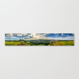 The Crags Canvas Print