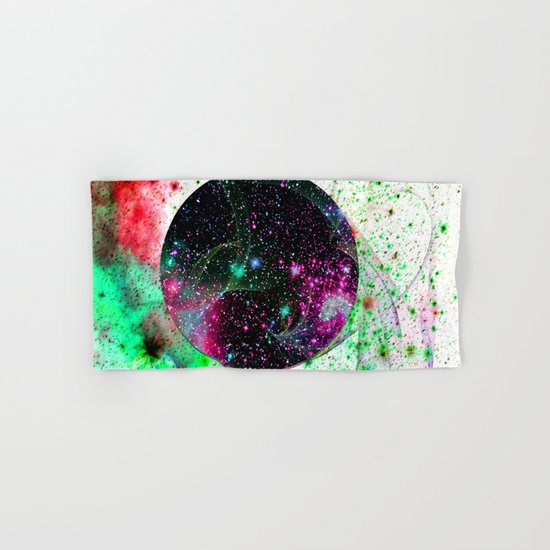 Hole In The Space-Time Fabric Hand & Bath Towel