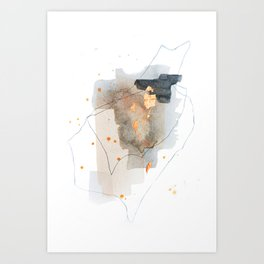 Pieces of Cheer 2 Art Print