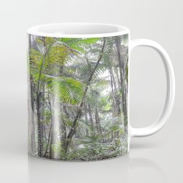 The Sierra Palm cloud forest - El Yunque rainforest PR Coffee Mug