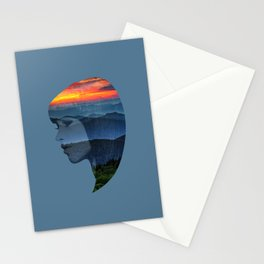 Sunsets on the Mountains Stationery Cards