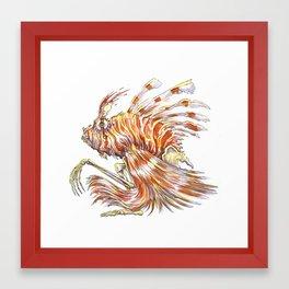 Autumn Fish Framed Art Print