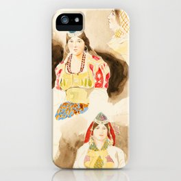 Morocco travel album - Eugene Delacroix iPhone Case