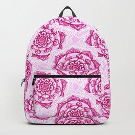 Candy Floss Mandala Backpack