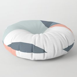 Modern Geometric 12 Floor Pillow