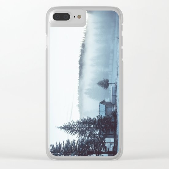 Foggy Memories Clear iPhone Case
