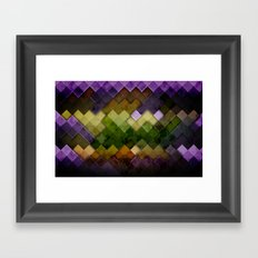 Abstract Cubes GYP Framed Art Print