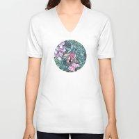 splash V-neck T-shirts featuring Splash by Vikki Salmela